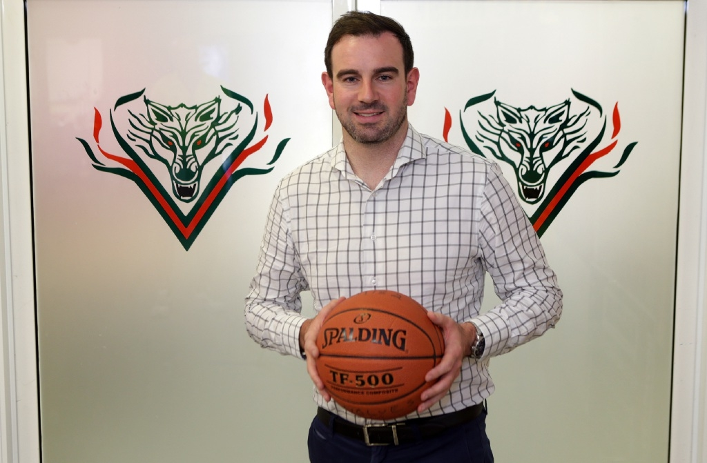 Cameron Britt, Wanneroo Basketball Association's new chief executive. Picture: Martin Kennealey        www.communitypix.com.au d447053