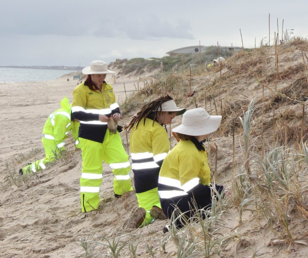 Young people are being encouraged to sign up for Green Army  projects.