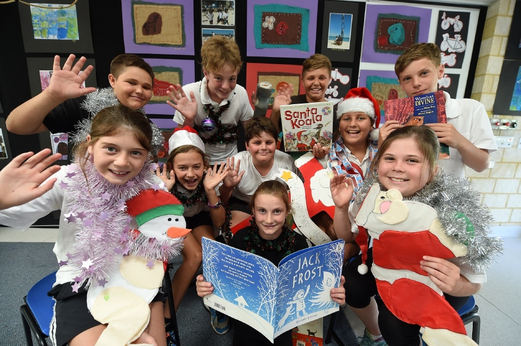 Years 5  and 6 students at North Fremantle PS. Picture: Jon Hewson www.communitypix.com.au   d447022