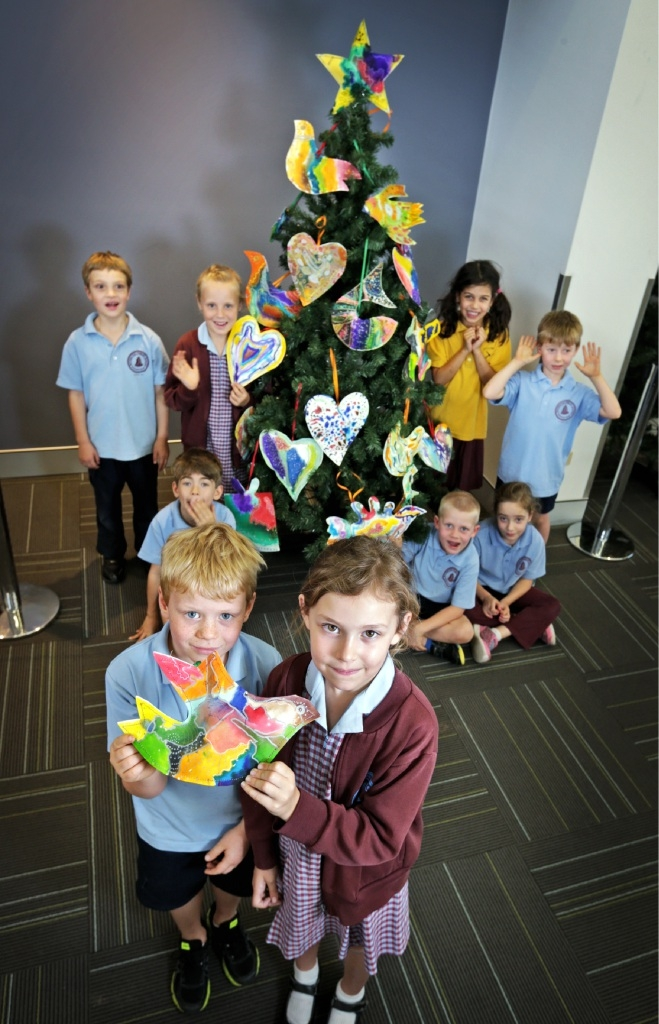 Bayswater Primary's�� art gives airport a lift at Christmas