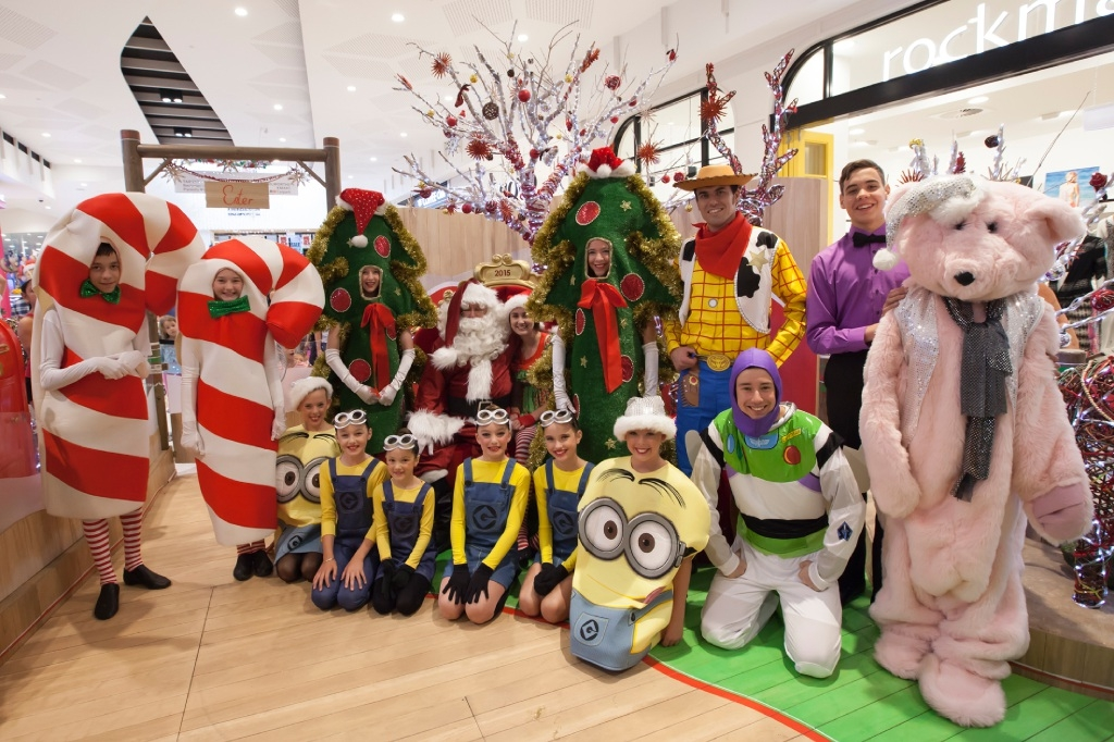 Young dancers dressed up as fun characters for the festive parade.Picture: Amy Sewell Commercial Photography