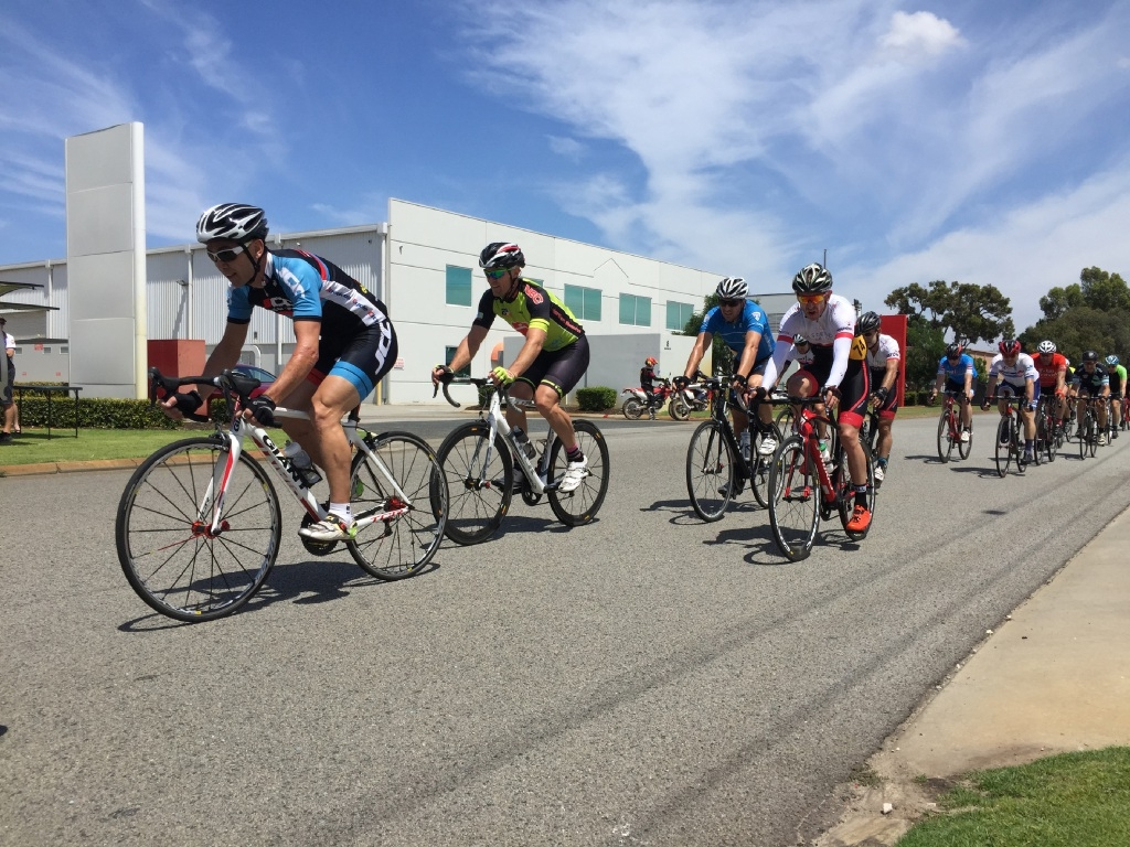 Justin Schultz, in the green kit, in the B-Grade masters at Kewdale.