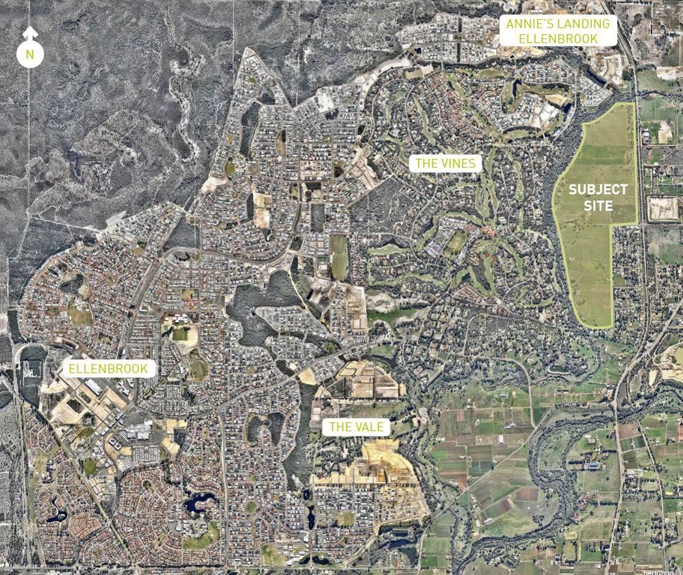1700 new homes planned for Upper Swan