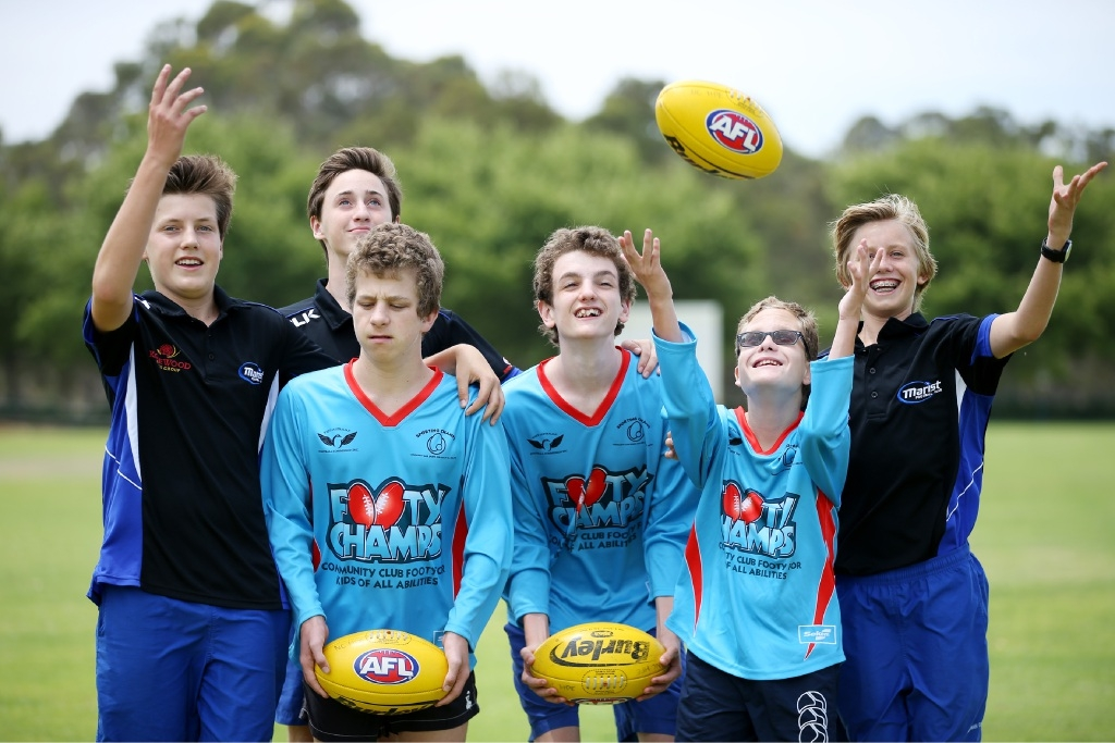Ronin O'Connor, Jack Penniment, Mitchell Ryan, Angus Hogg, Lachlan Hodgson and Joey Kavenagh. Picture: Andrew Ritchie         www.communitypix.com.au   d447446