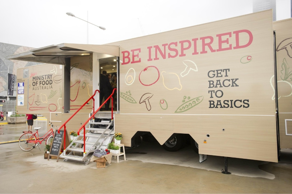 Jamie's Ministry of Food mobile kitchen is coming to Joondalup.