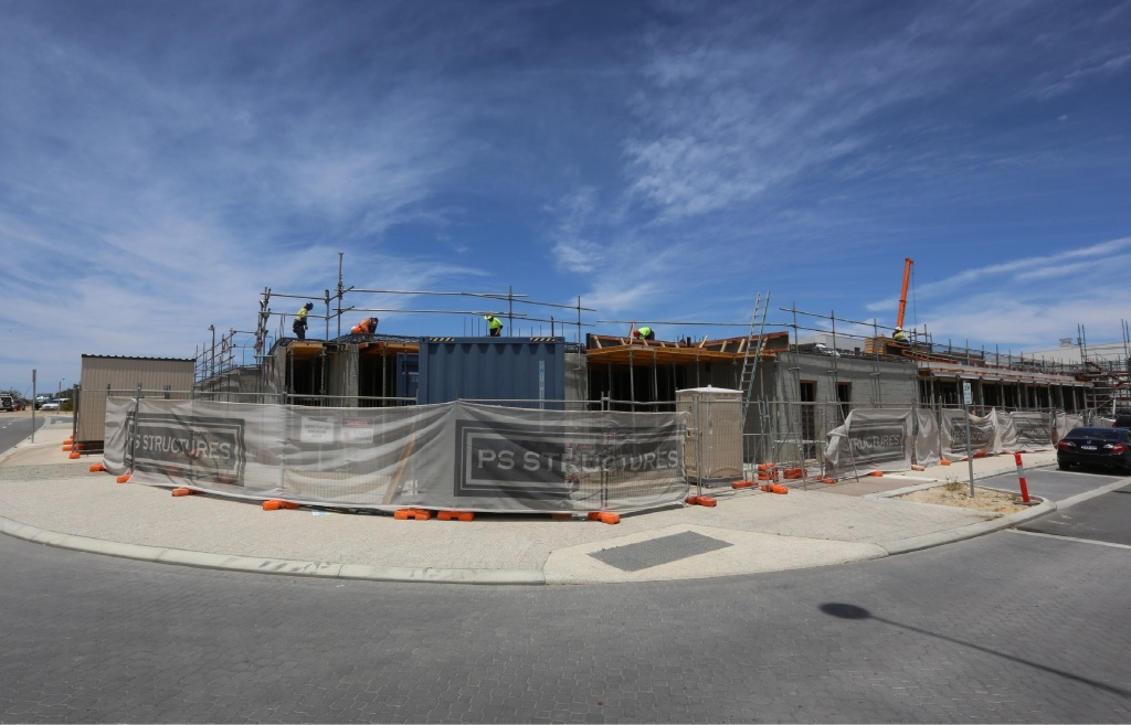 New southern police hub is taking shape at Cockburn Central