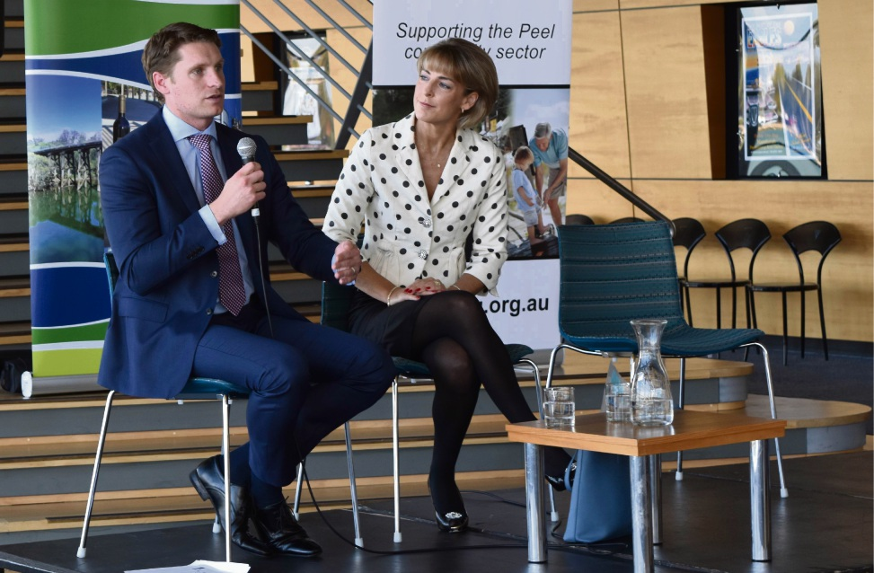 Canning MHR Andrew Hastie and Senator Michaelia Cash