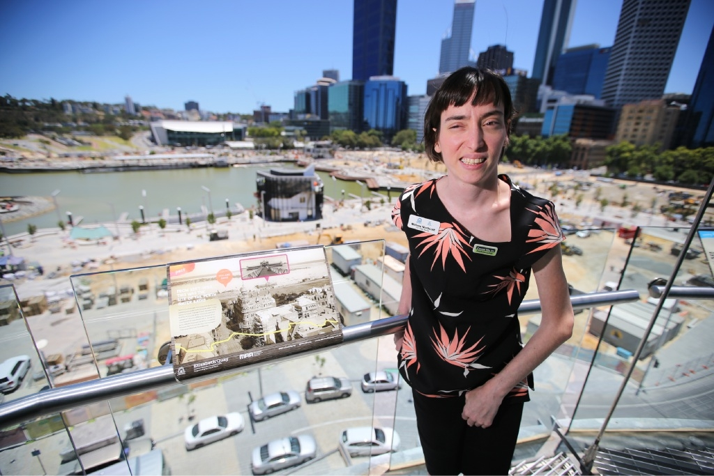 Disabled access amenities for Elizabeth Quay
