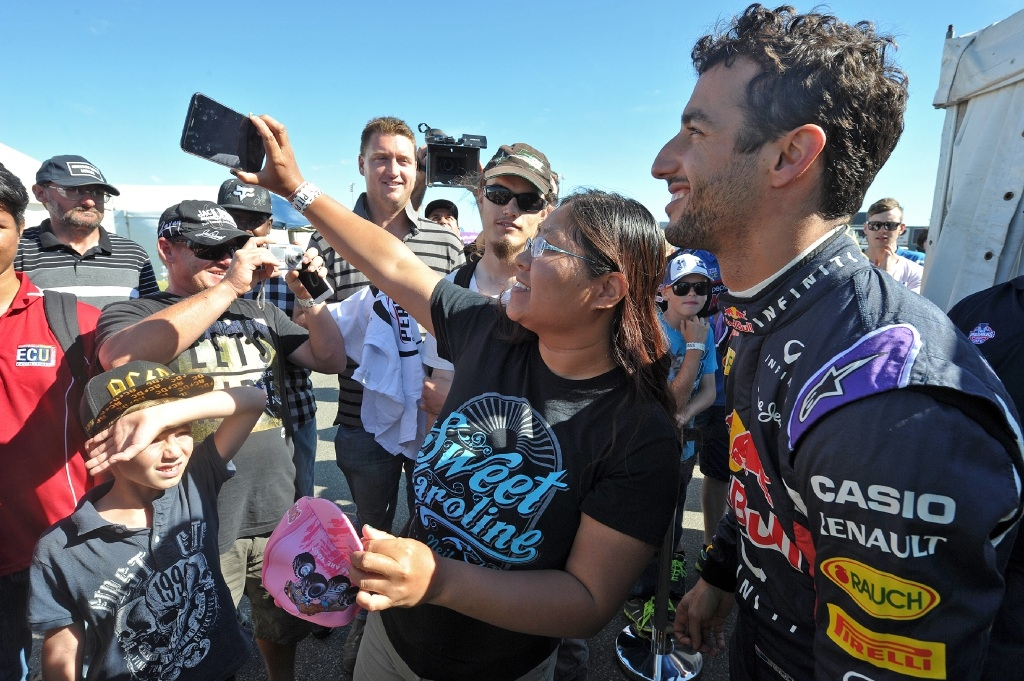Speedfest was fun at full speed with Daniel Ricciardo in Perth
