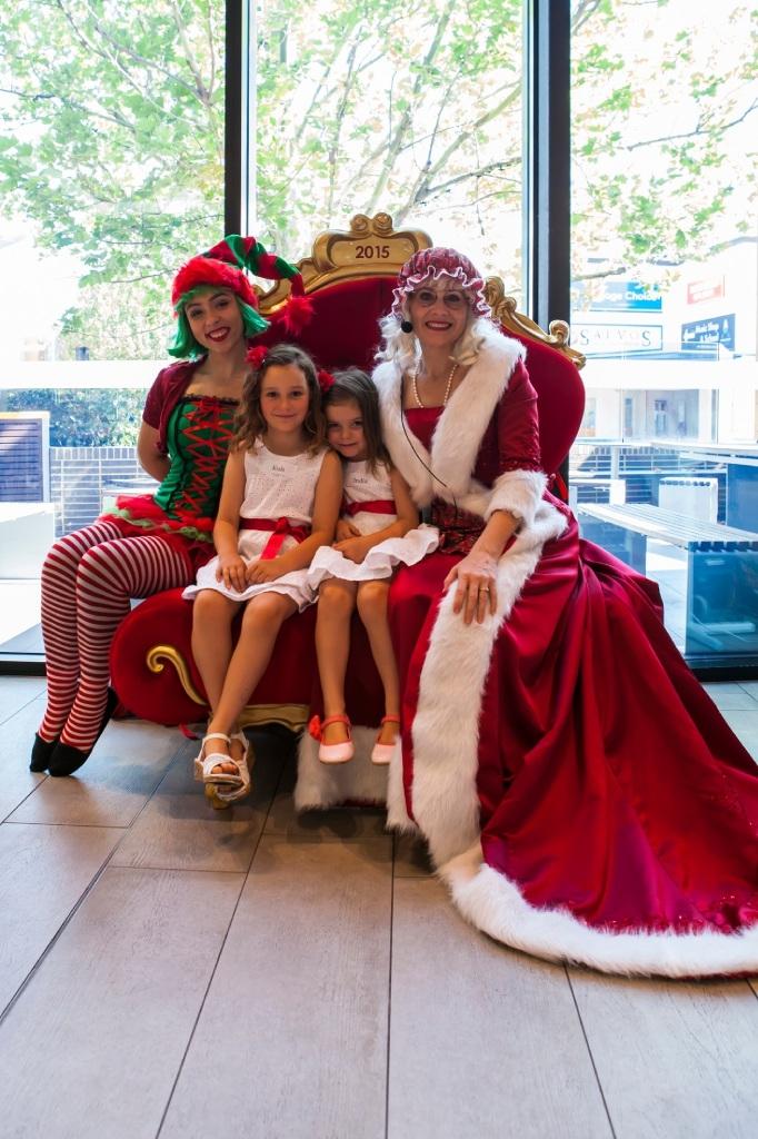 Brekky with Santa popular event  at Ocean Keys Shopping Centre