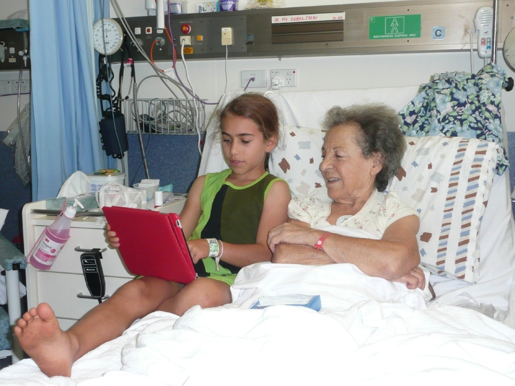 Talitha Huston showed an extraordinary level of care for her late grandmother, often reading to her in hospital.