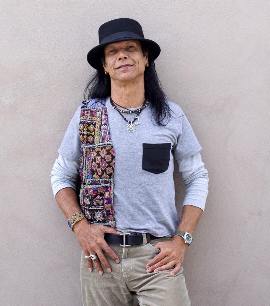 Fighting demons: Musician Silva Dee.