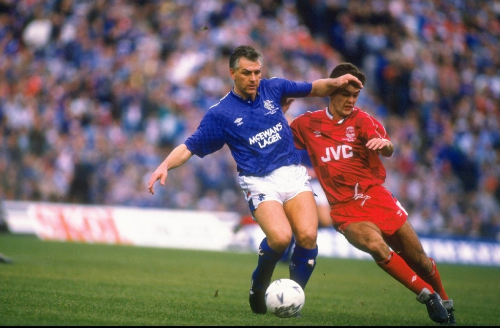 Graham Roberts during his stint with the Rangers.