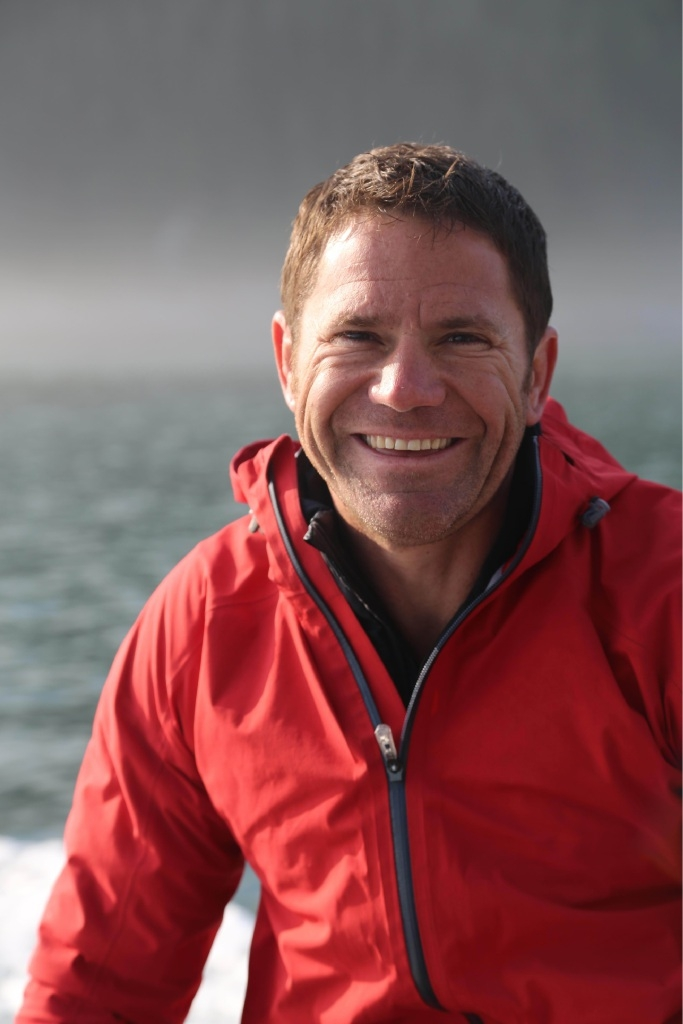 Steve Backshall in Alaska.