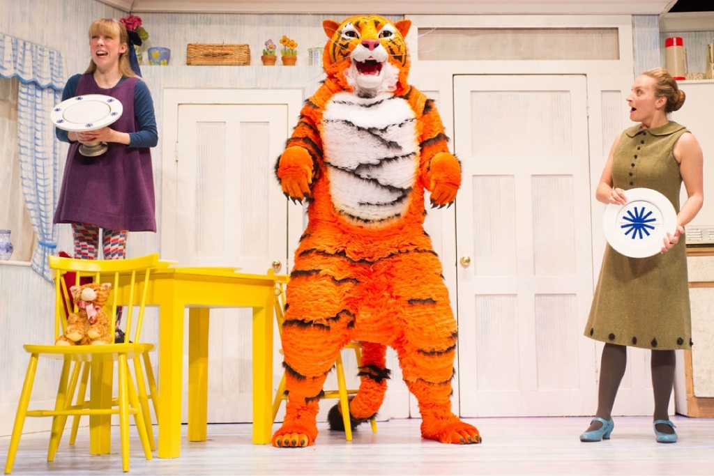 Wild dining at Heath Ledger Theatre in The Tiger Who Came to Tea