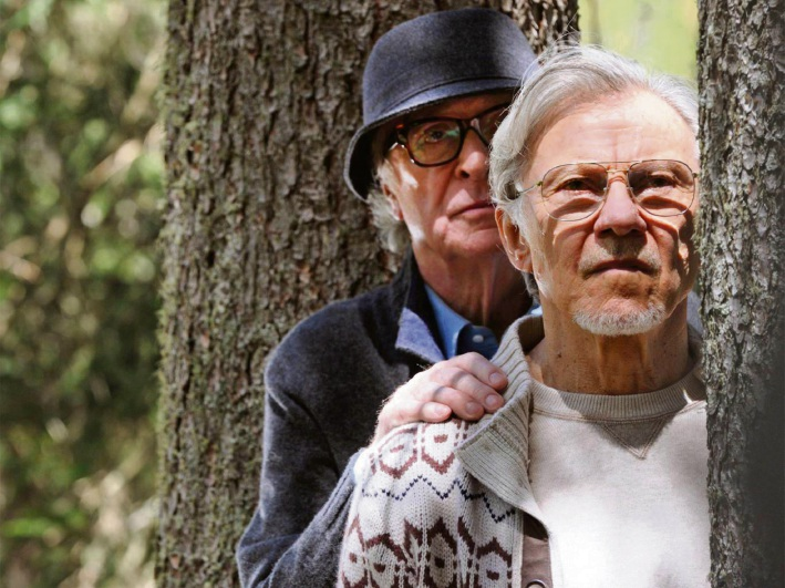 Michael Caine and Harvey Keitel in Youth.