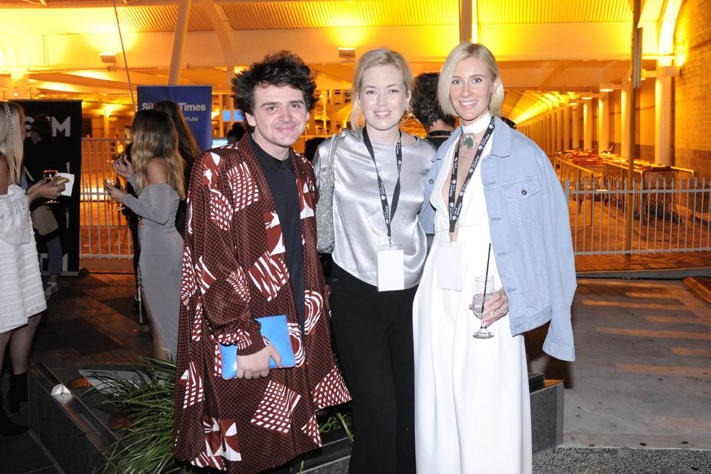 Samuel Mills, Elle Campbell and Juvelle Behrenhoff