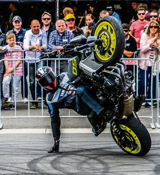 Motorcycle action is coming to York.