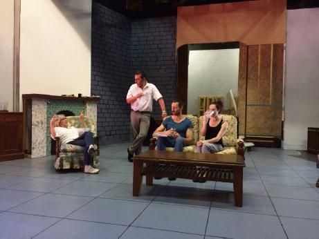 Cast members Alida Chaney, Richard Hadler, Cameron Leese and Krysia Wiechecki.