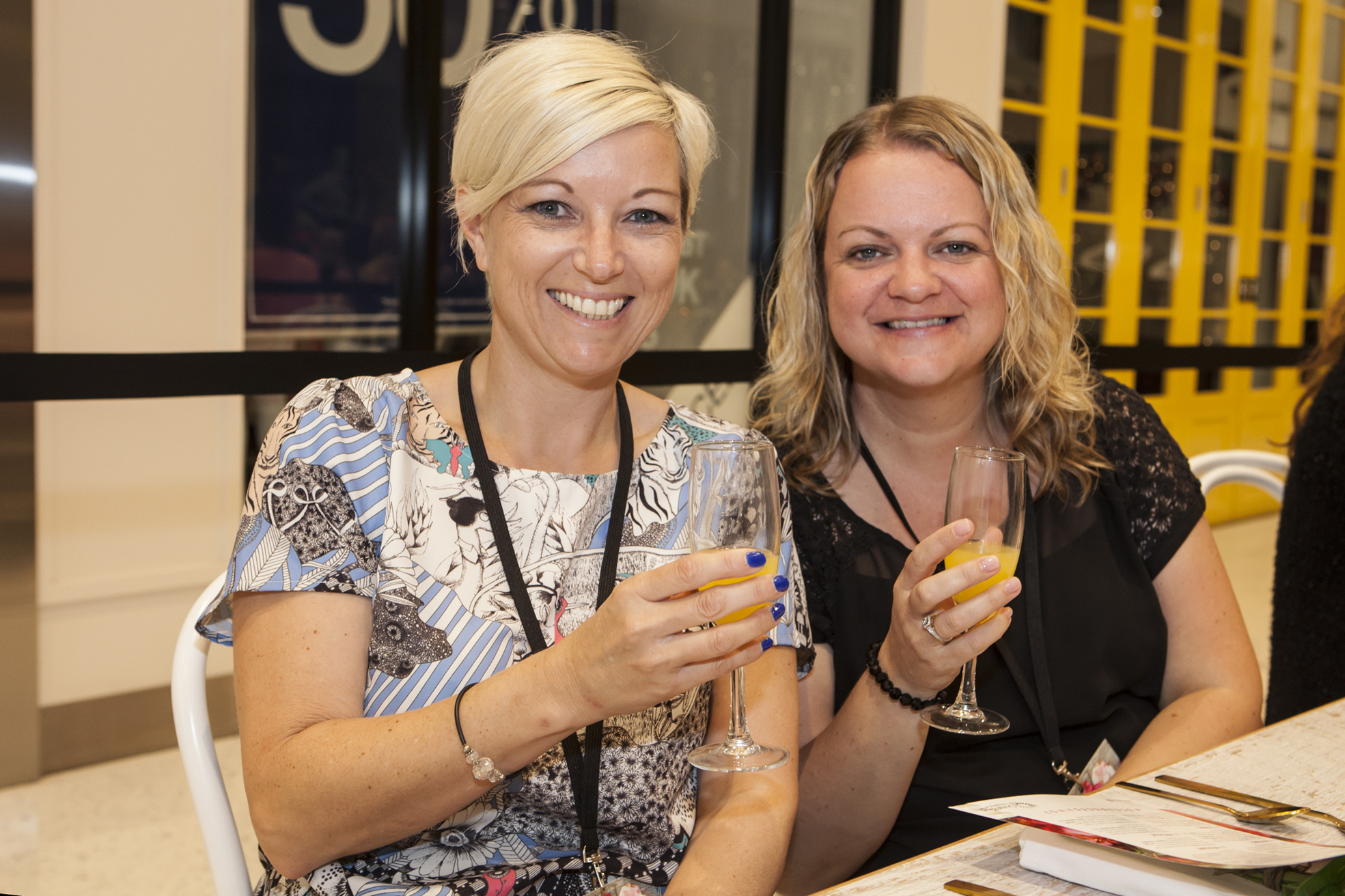 Caroline Parry of Quinns Rocks and Louise Aitken of Jindalee.