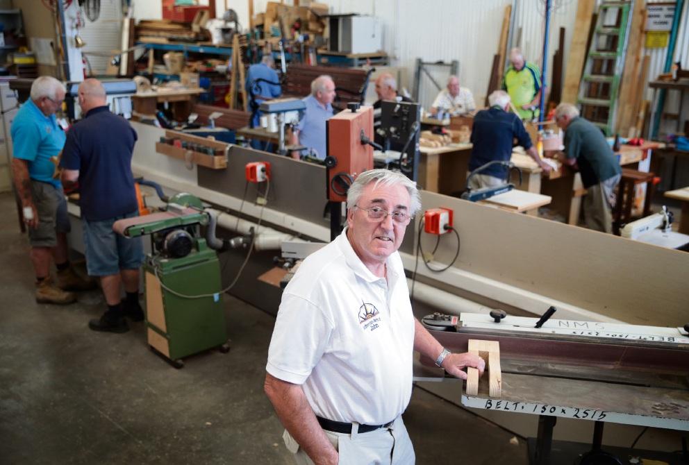 Landsdale men's shed seeks donations, new home