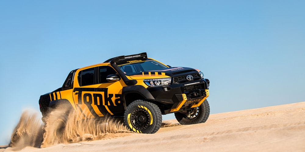 Toyota Hilux: monster utes the new boys' toy