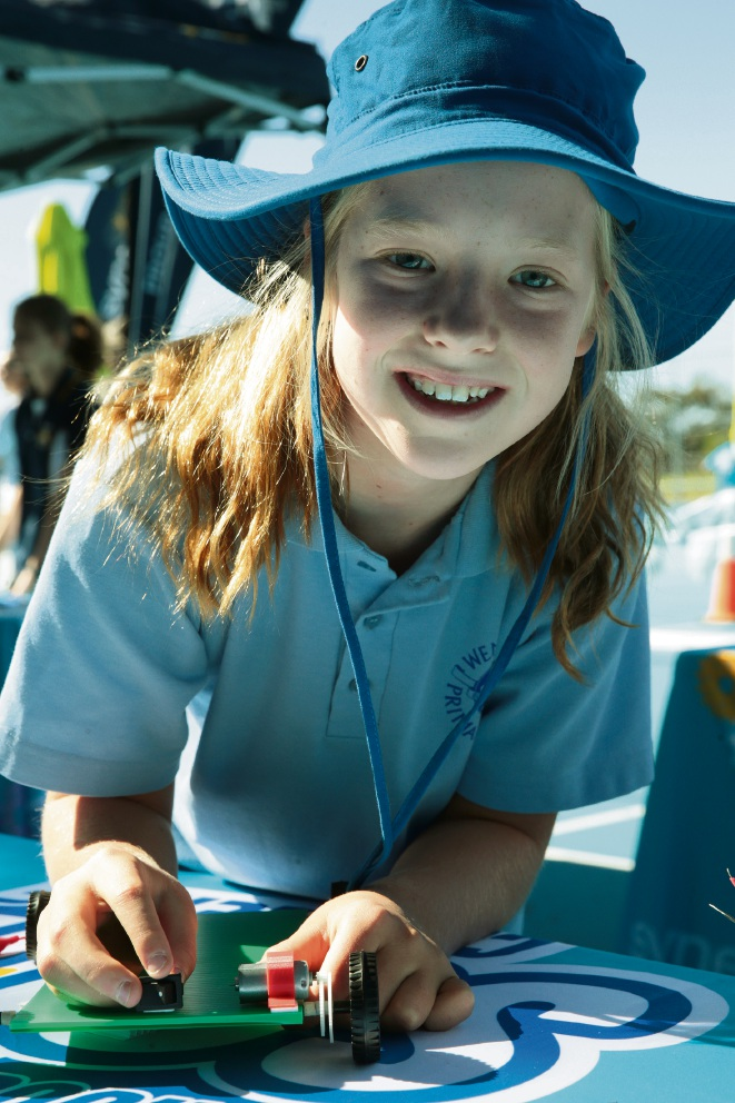 Wembley Primary School's Daisy Thomson. Picture: Martin Kennealey d467494
