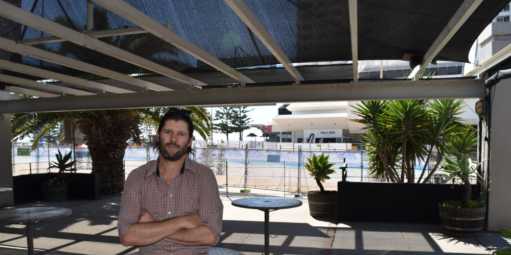 Boho Espresso owner Donny Collins.