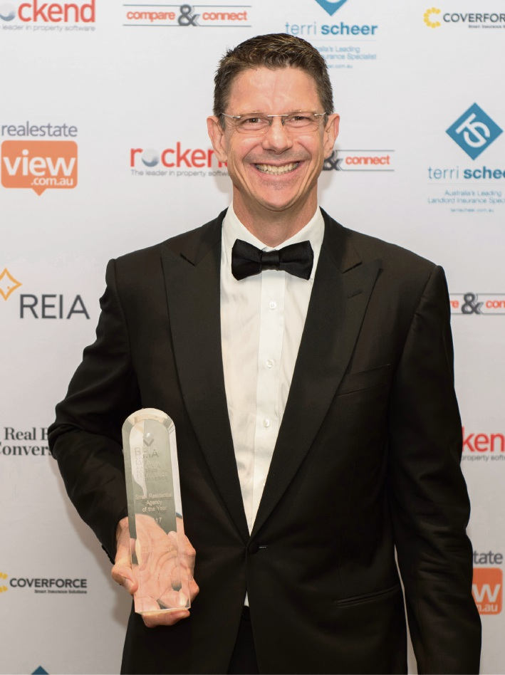 Claremont's Mint Real Estate named small residential agency of year at REIA National Awards for Excellence