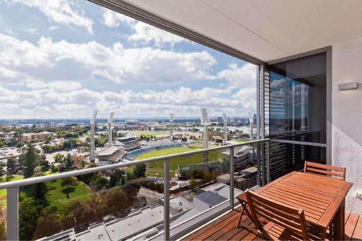 East Perth, 1802/8 Adelaide Terrace – From $769,000
