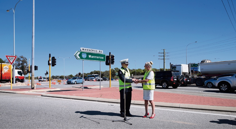 City of Wanneroo blesses roads to highlight road safety ahead of Easter