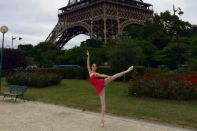 Port Kennedy dancer Kelly Devlin is competing in the Youth American Grand Prix in New York.