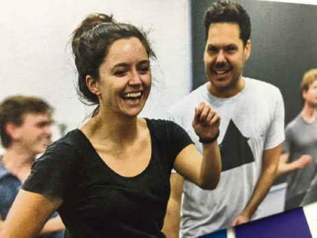Emma Jackson and Jason Klarwein in the WA premiere of Once in Royal David's City.