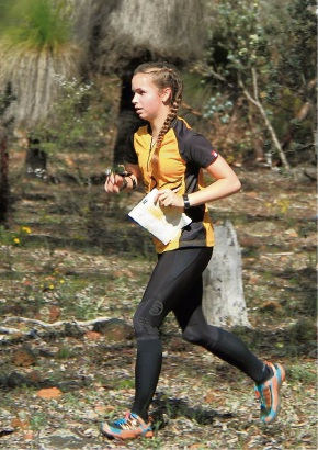 Orienteering WA supplied pic: past participants in Orienteering WA events are Simon Windsor and Lily McFarlane.