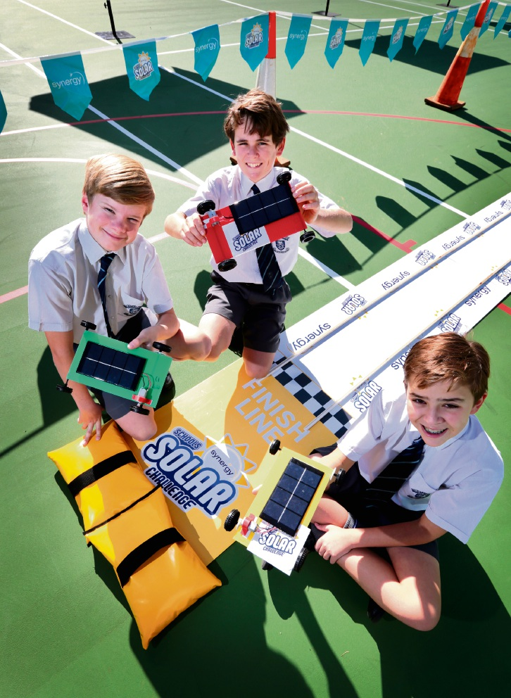 Mazenod College hosts semi-final for Schools Solar Challenge