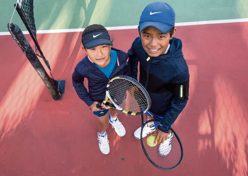 Willetton tennis siblings are junior tennis aces