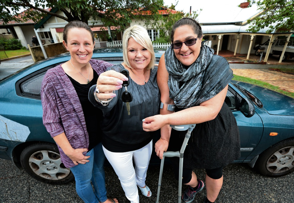 ECO Pay It Forward: car given to Hamilton Hill woman in need