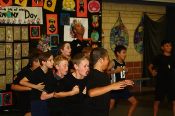 East Butler Primary School students perform in harmony for parents' night