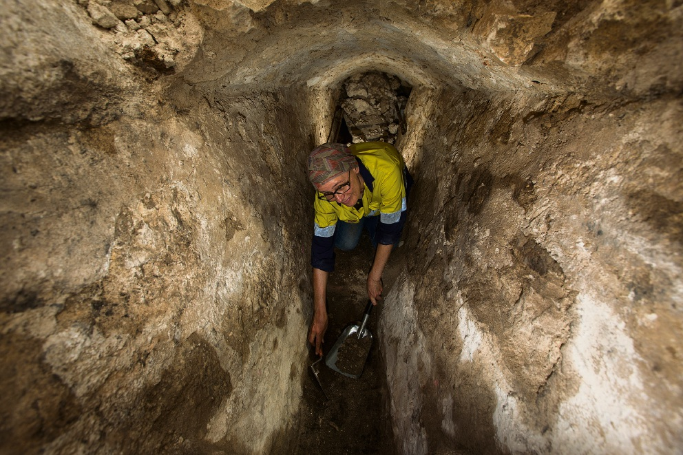 Sinkhole at Fremantle Prison reveals archaeologically significant site