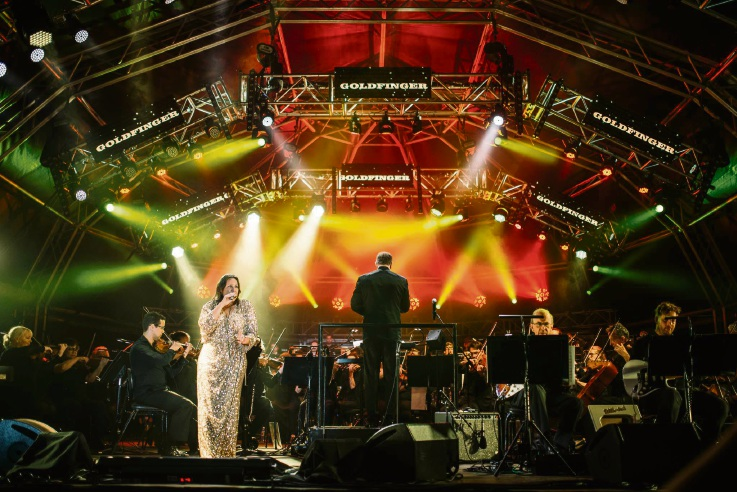 Kate Ceberano and Michael Falzon bring the music of James Bond to life at Joondalup Valentine's Concert