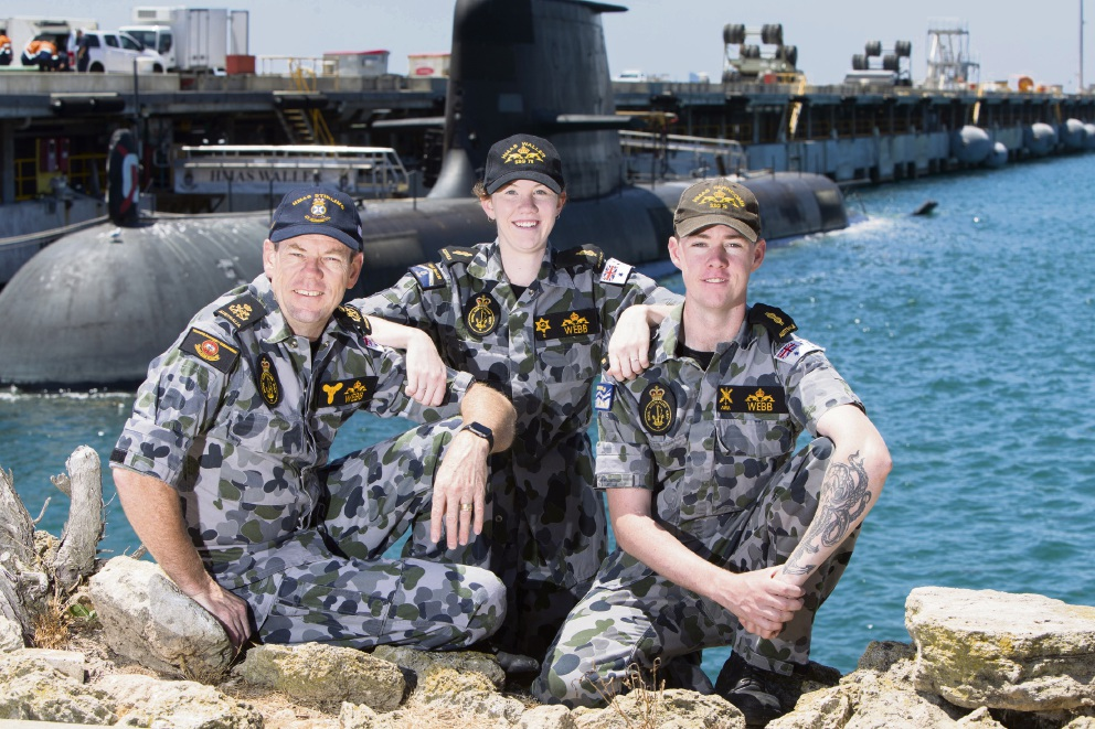 Sibling submariners delight seamen father with postings