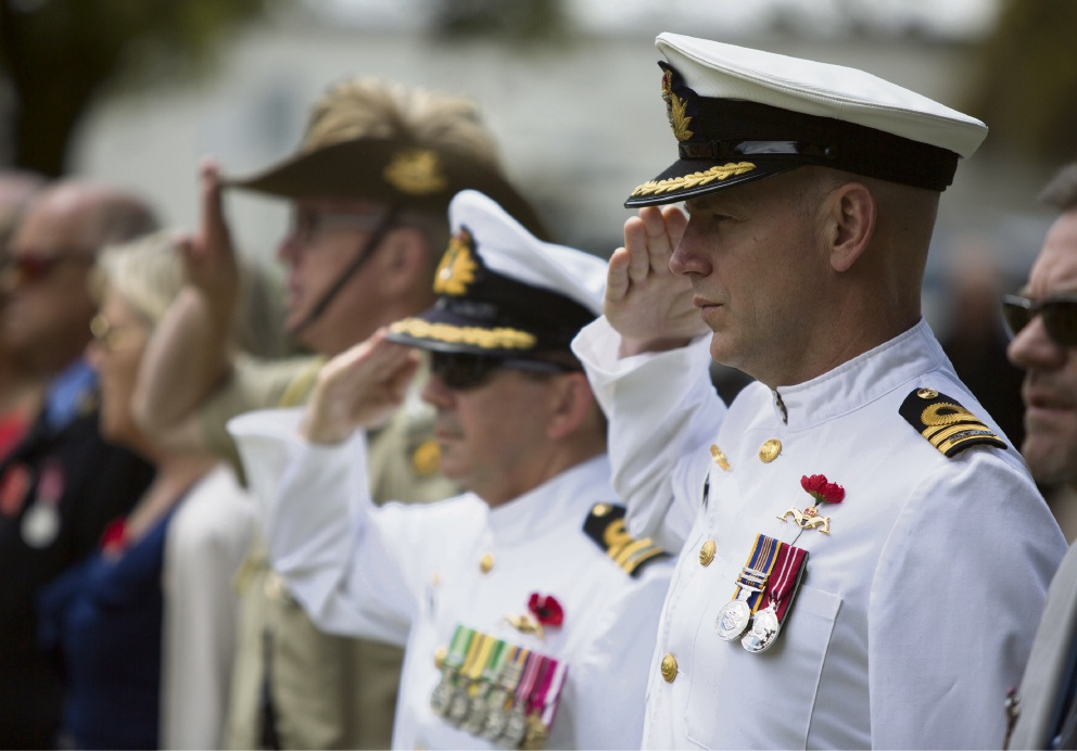 Navy officer's triumphant return recognised with Australia Day honours