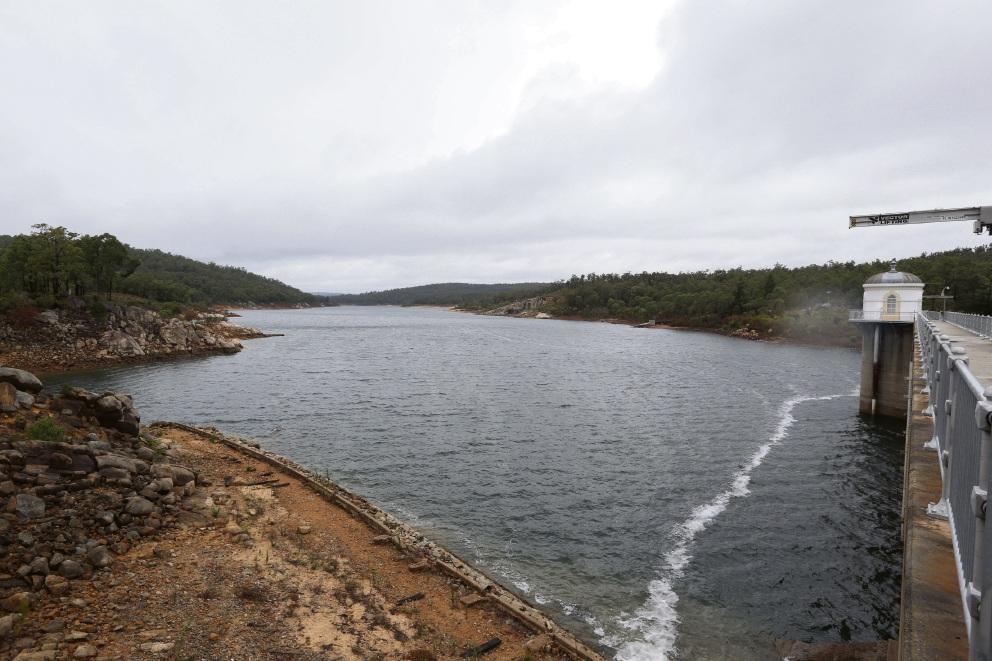 Mundaring Weir level steady, despite heavy January rain