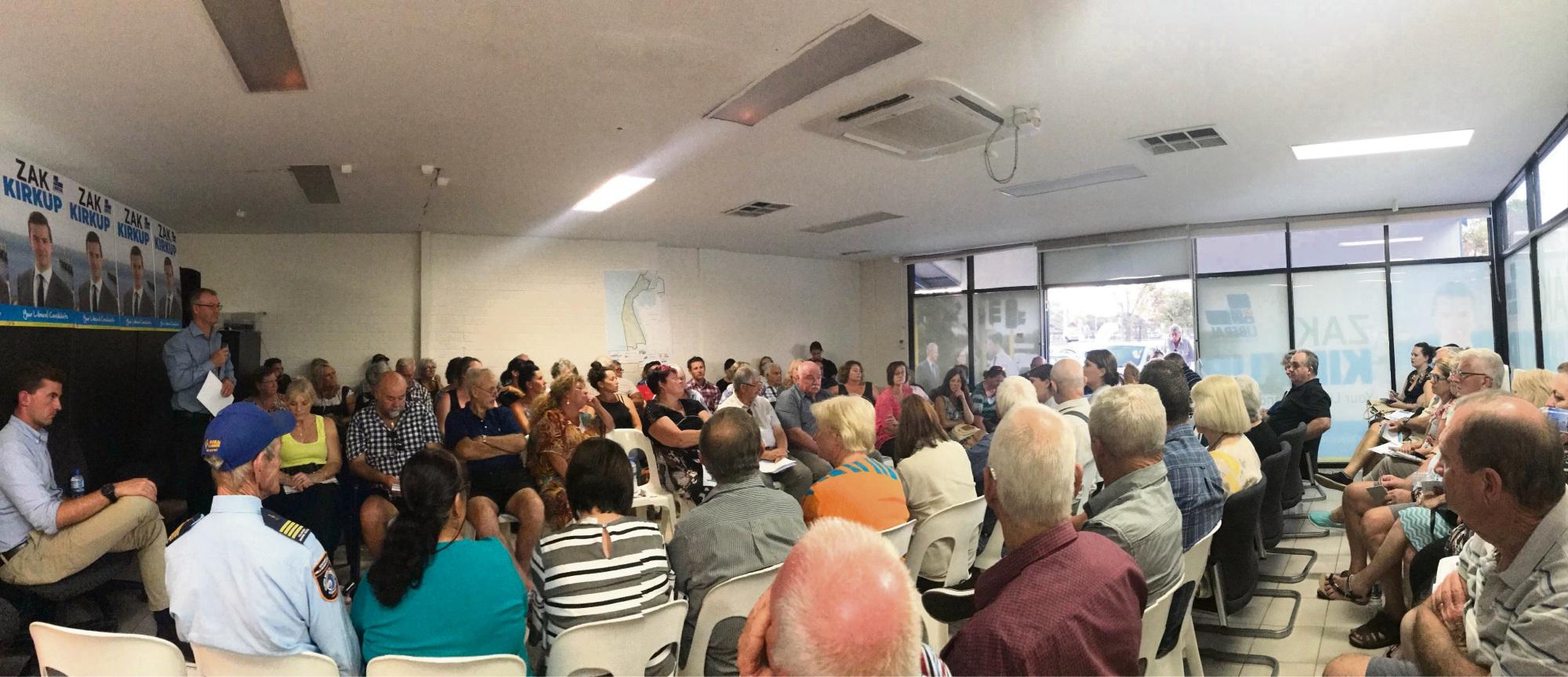 "Mandurah meth forum: ""the horror you go through is incredible"""
