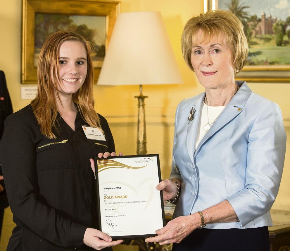 Tranby College graduate achieves Duke of Edinburgh gold award