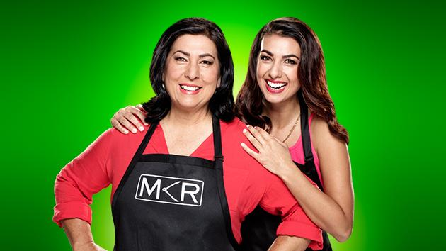Mother and daughter team Valerie and Courtney. Picture: Channel 7