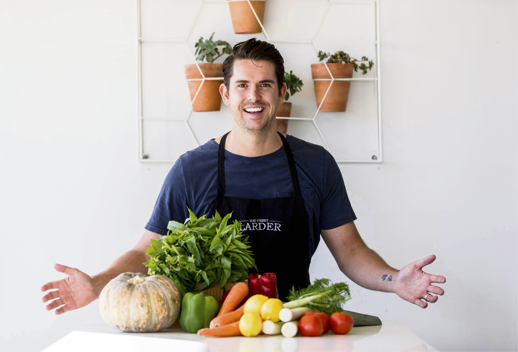 Eamon Sullivan will host a cooking demonstration at Whitford City on Saturday. Picture: Matthew Poon