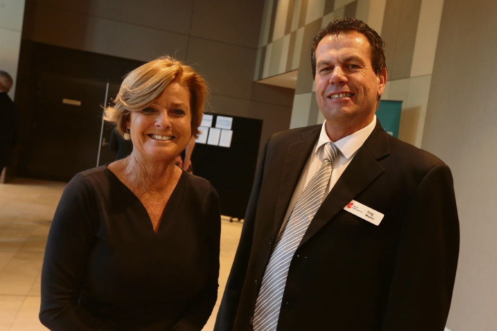 Glenda Blake (City of Joondalup) and Greg Martin (North Metro TAFE).