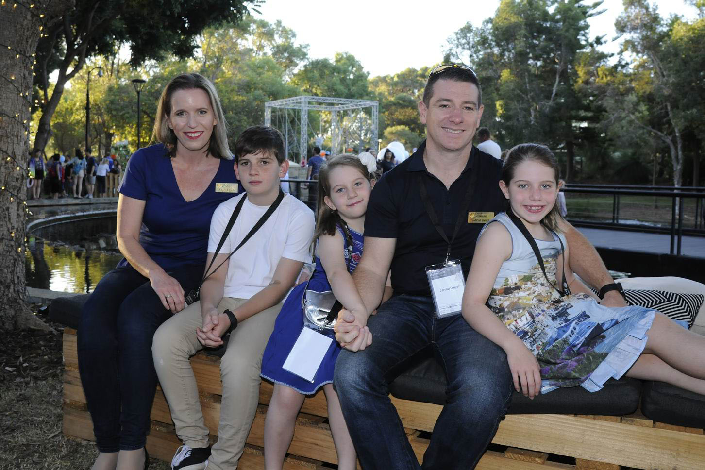 Cr Sophie Dwyer with family members James, Emily, Jarrod and Charlotte. Pictures: Chris Kershaw