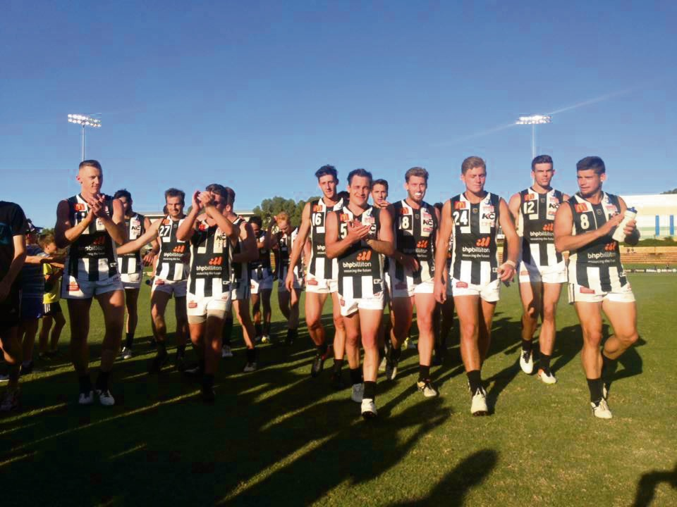 WAFL: undefeated Swan Districts top of ladder